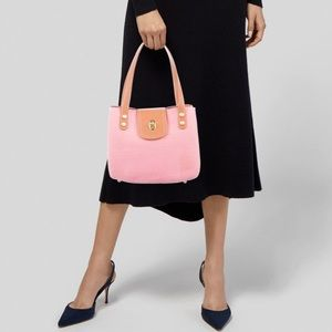 Eric Javits Squishee Pink Woven Tote